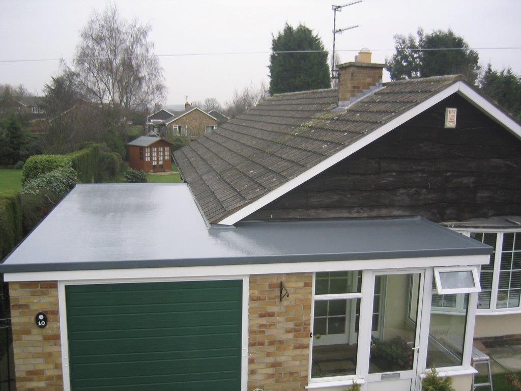 Grp Fibreglass Flat Roof System Roofix