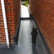 GRP roof - detail