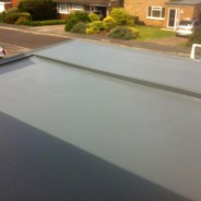 GRP roof - step