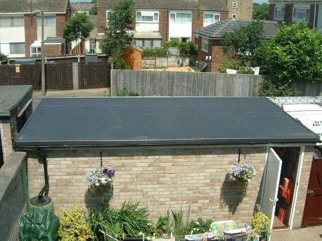 Single Ply Epdm Rubber Flat Roof System Roofix