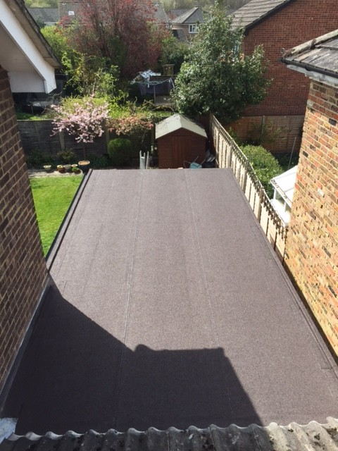 Sbs Elastomeric Felt Flat Roof System Roofix
